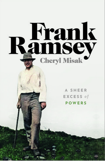The cover of Frank Ramsey