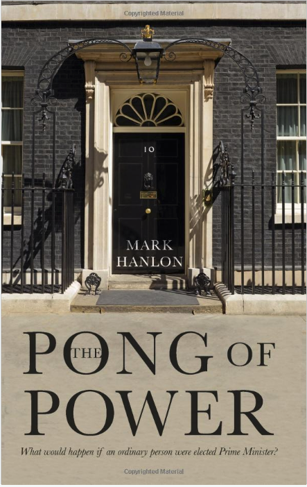 The cover of the book 'The Pong of Power' by Mark Hanlon