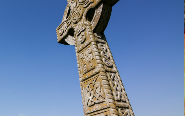 Celtic Cross at Rock of Cashel, Co. Tipperary, Ireland