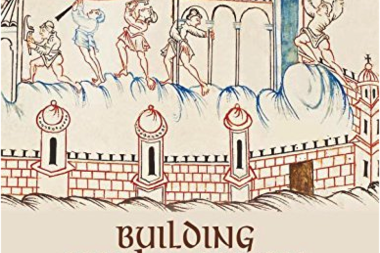The cover of 'Building Anglo-Saxon England' by John Blair