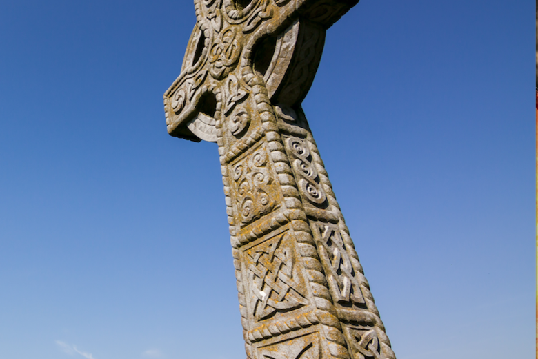 Celtic Cross at Rock of Cashel, Co. Tipperary, Ireland