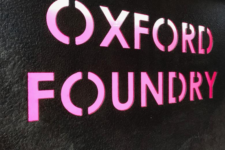 Oxford Foundry sign