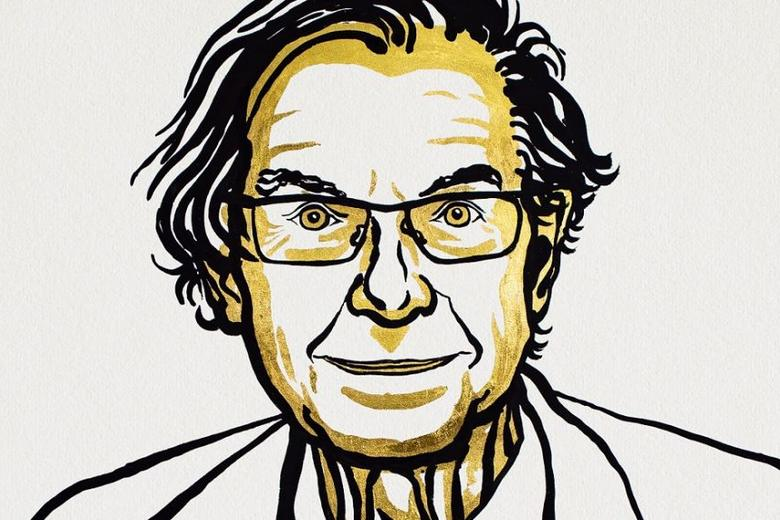 Professor Sir Roger Penrose Nobel sketch