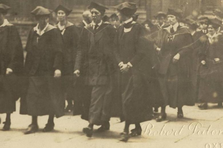 The first female degree holders 1920, Lady Margaret Hall