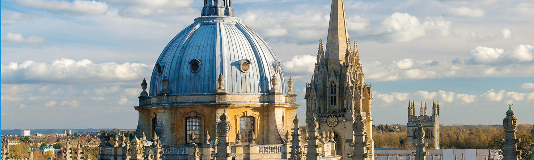 View of Radcliffe Camera skyline