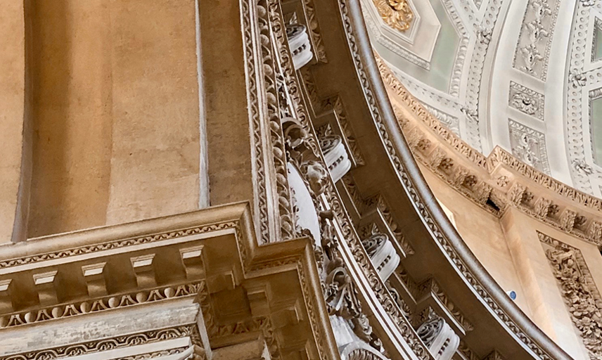 Ceiling of Radcliff Camera