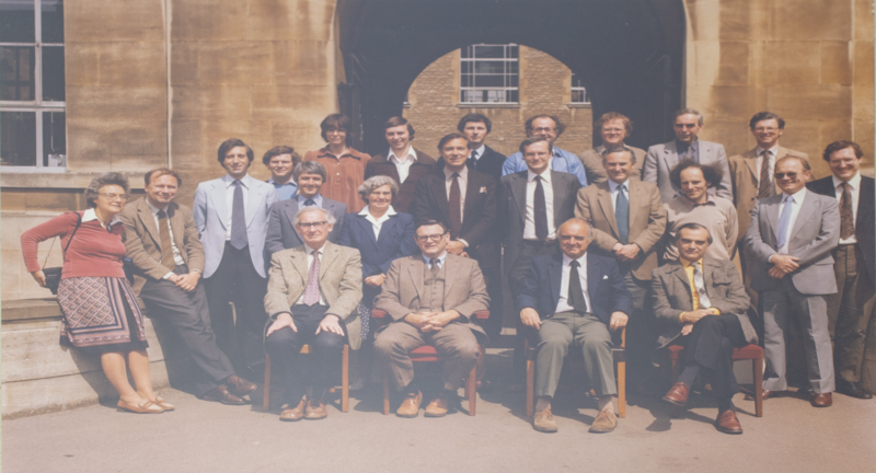 A Chemistry departmental photo from 1982