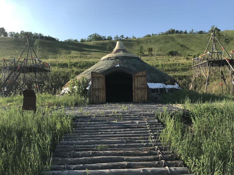 Genghis Khan's tent