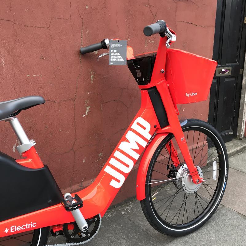 An uber e bike