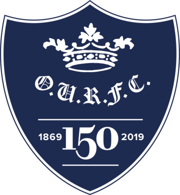 Oxford University Rugby Football Club 150th Anniversary badge