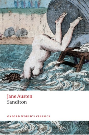The cover of 'Sanditon' by Jane Austen