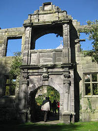 The Mansion Gateway at Biddulph Old Hall