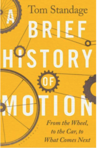 Book jacket of Tom Standage's book 'A Brief History of Motion'