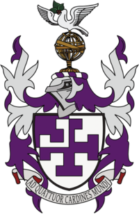 St Cross College coat of arms