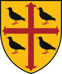 St Edmund Hall coat of arms