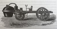 French Steam Artillery Carriage from 1769