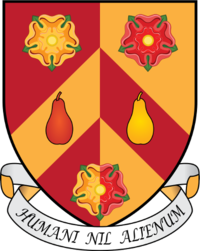 Wolfson College coat of arms
