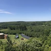 View overlooking CeeWEB for Biodiversity, Hungary